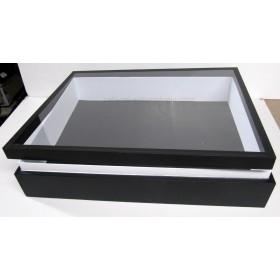 Boite entomologique 40 x 50 x 8 cm fond noir