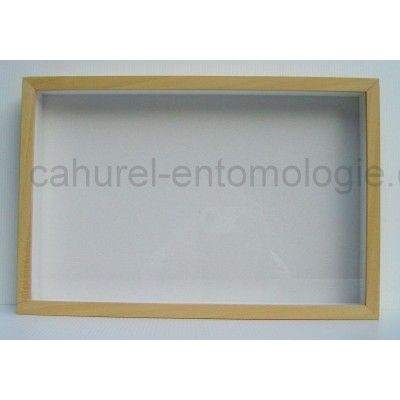 Boite entomologique 39 x 26 x 5,7 cm