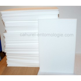 Plaque émalène blanc 39 x 25 x 1 cm