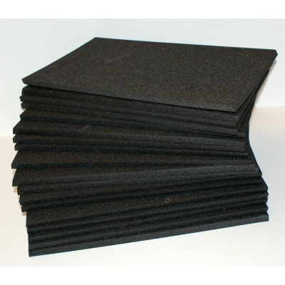 Plaque émalène noir 39 x 25 x 1cm