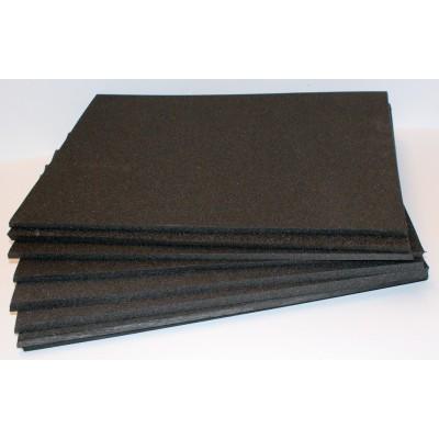 Plaque émalène noir 39 x 50 x 1 cm