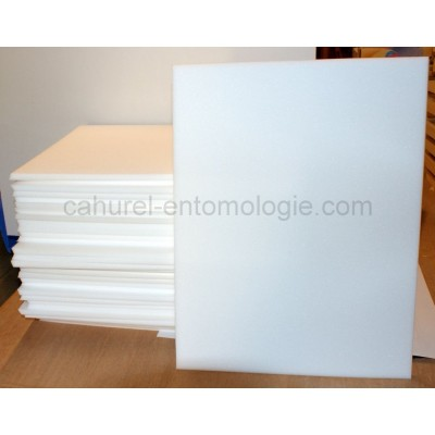 Plaque émalène blanc 39 x 50 x 1cm