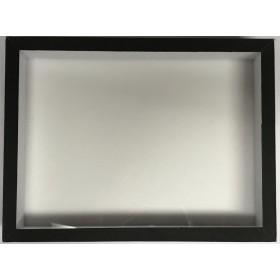 Boite entomologique teintée noire 15 x 15 x 5,7 cm