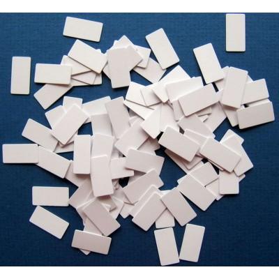 Sachet de 100 paillettes bristol 16x7