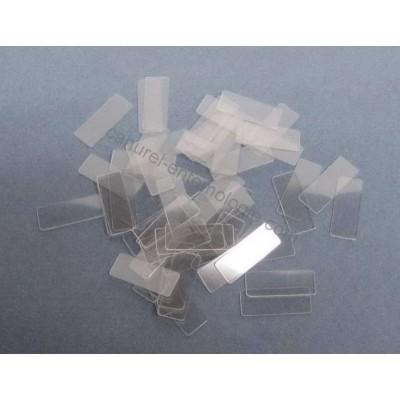 paillettes transparentes 18 x 7 mm