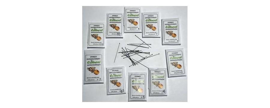 Epingles entomologiques